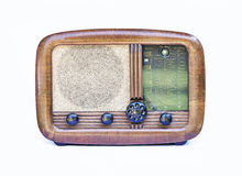 Old fashion radio receiver Stock Images