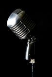 Old fashion retro microphone Royalty Free Stock Photo