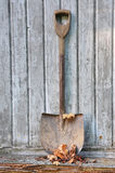 Old fashion spade Stock Photo