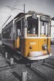 Old Fashion Streetcar Stock Photo