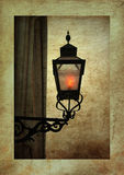 Old fashion streetlight Royalty Free Stock Images