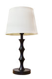 Old fashion table lamp Stock Images