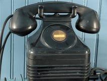 Old Fashion Telephone. Intercom telephone from yesteryear. Symbolic of communication stock images