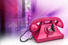 Old fashion telephone Stock Images