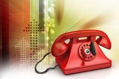 Old fashion telephone Royalty Free Stock Image