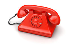 Old fashion telephone Stock Photography