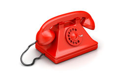 Old fashion telephone Stock Images