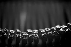 Old Fashion Typerwriter Detail Royalty Free Stock Photos
