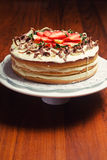 Old fashion Victoria Sponge Royalty Free Stock Photography