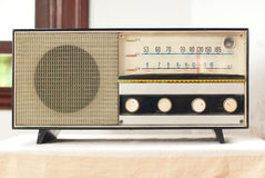 Old fashionable radio Royalty Free Stock Photo