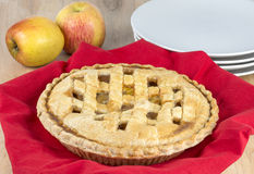 Old fashiond apple pie Royalty Free Stock Photography