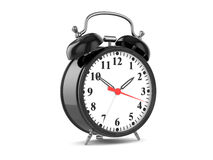 Old fashioned alarm clock Stock Images
