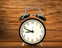 Old fashioned alarm clock Royalty Free Stock Photo