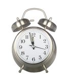 Old fashioned alarm clock Stock Image