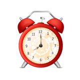 Old-fashioned alarm clock Stock Photo