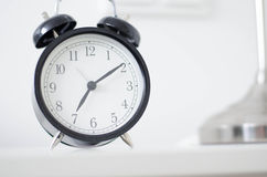 Old-fashioned alarm clock Royalty Free Stock Images