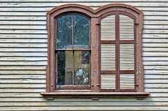 Old-fashioned Arch Windows Stock Images