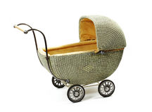 Old fashioned baby carriage Royalty Free Stock Images