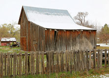 Old fashioned barn Royalty Free Stock Photography