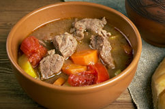 Old fashioned beef stew Stock Image