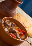 Old fashioned beef stew Royalty Free Stock Image