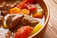 Old fashioned beef stew Royalty Free Stock Photos
