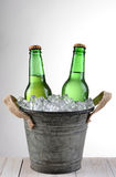 Old Fashioned Beer Bucket Royalty Free Stock Image