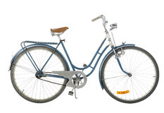 Old fashioned bicycle Royalty Free Stock Photos