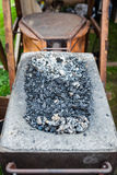 Old fashioned blacksmith furnace Royalty Free Stock Photo