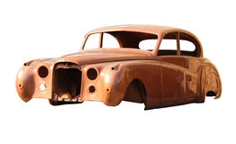 Old fashioned body car Royalty Free Stock Images