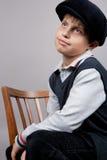 Old fashioned boy Stock Image