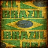 Old fashioned brazil background Royalty Free Stock Image
