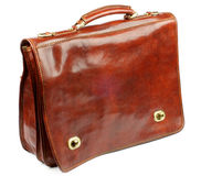 Old Fashioned Briefcase Stock Image