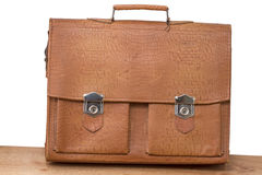 Old-fashioned briefcase Stock Image