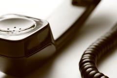 Telephone receiver Stock Image