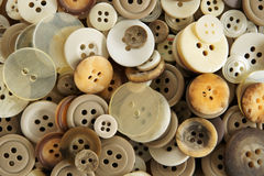Old fashioned Buttons Royalty Free Stock Photography