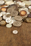 Old fashioned Buttons Stock Photography