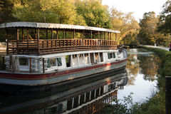 Old Fashioned Canal Boat Royalty Free Stock Images