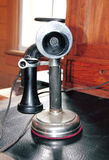 Old Fashioned Candlestick Telephone Stock Images