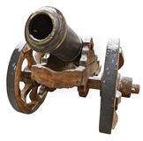 The old fashioned cannon Royalty Free Stock Photo