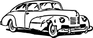 Old Fashioned Car Royalty Free Stock Photos