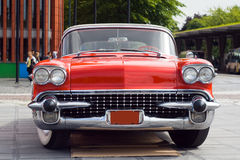 Old-fashioned car Royalty Free Stock Images