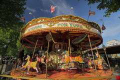 Old fashioned carousel Stock Photo