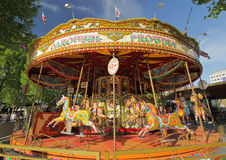 Old fashioned carousel Royalty Free Stock Photography
