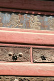 Old Fashioned Chinese Cabinet Stock Image