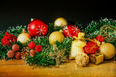 Old fashioned christmas decoration Royalty Free Stock Image