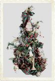 Old Fashioned Christmas. An Old Fashioned Christmas Tree Snapshot stock images