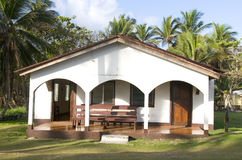 Old fashioned church corn island nicaragua Royalty Free Stock Images