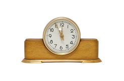 Old-fashioned clock Royalty Free Stock Photo