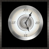 Old fashioned clock. Stock Images